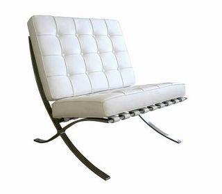 White_barcelona_chair